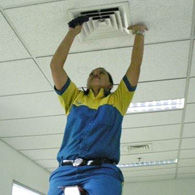 cleaning service - lobang angin