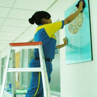 cleaning service - pembersihan dinding