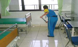 cleaning service - rumah sakit